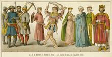 King John With Warriors  Hunte...