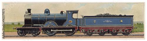 Caledonian Locomotive. Date: 1900 Fototapet