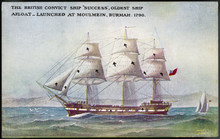 Success' Sailing Ship. Date: Launched 1790