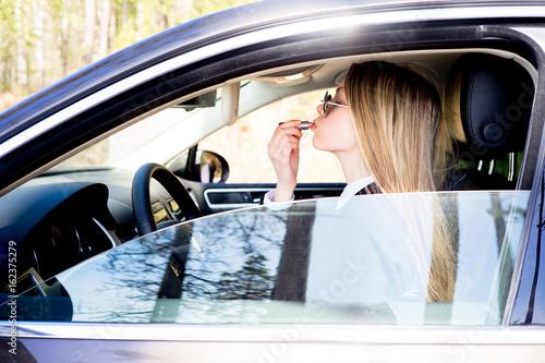 Fotografia, Obraz  Danger driving concept