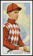 Jockey - Danny Morgan 20th Century. Date: 20th Century