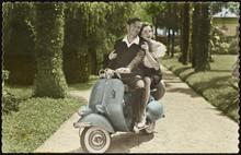 Vespa' Scooter - 1960s. Date: ...