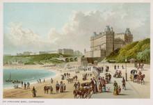 Scarborough Beach. Date: Circa 1890