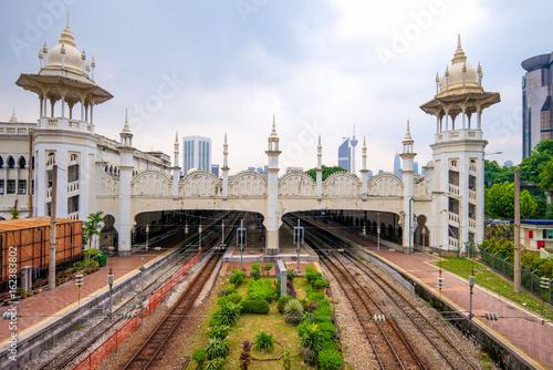 Canvas Prints Kuala Lumpur Kuala Lumpur railway station in kuala lumpur