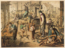 Workshop Of A Cartwright. Date...