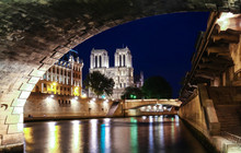 The Notre Dame Cathedral In Ev...