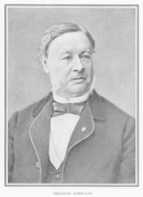 Theodor Schwann  German Physiologist. Date: Circa 1880