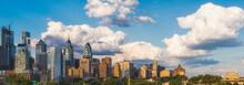 Philadelphia Skyline In Daytime