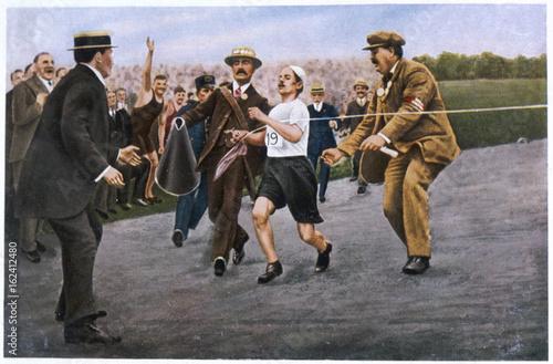 Fotografie, Obraz  Olympics - 1908 - Marathon. Date: 3105