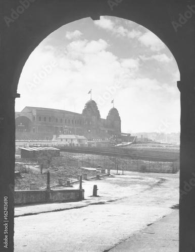 Photo  Wembley Stadium - 1950s. Date: 1950s