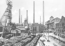 Essen Coal Mine - Germany. Date: Early 20th Century