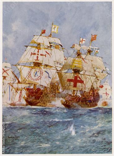 Photo Armada - 'Ark Royal'. Date: July 1588