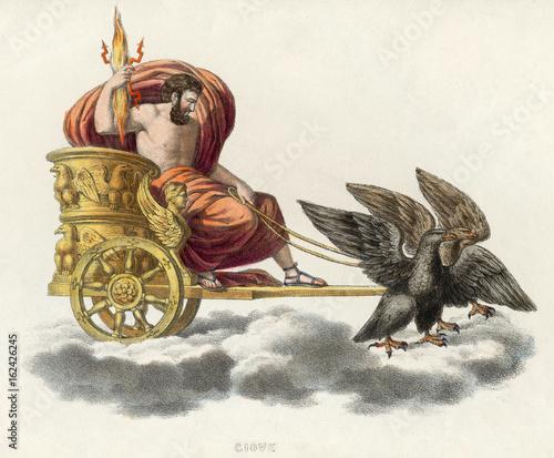 Photo Zeus - Jupiter in Chariot