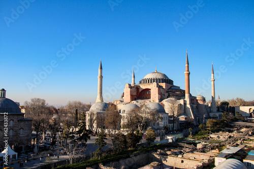 Leinwand Poster  Hagia Sophia, Istanbul, Turkey