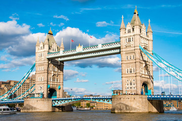 Fototapeta na wymiar Tower Bridge, London, United Kingdom