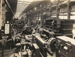 Leinwandbild Motiv Factory Interior - circa 1900. Date: early 20th century