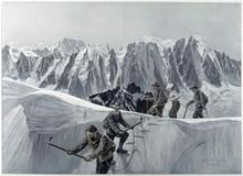 Summit - Aiguille - Platz. Date: 1907