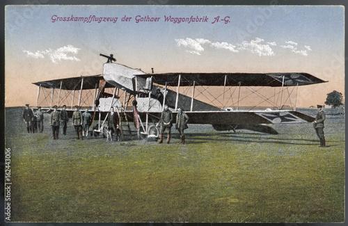 Obraz na plátne Gotha Bomber. Date: 1915