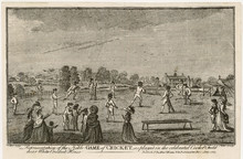 Cricket At White Conduit. Date...