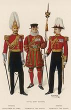 Costume  Royal Bodyguard. Date...