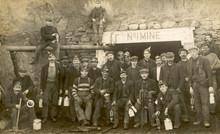 N American Miners. Date: Circa...
