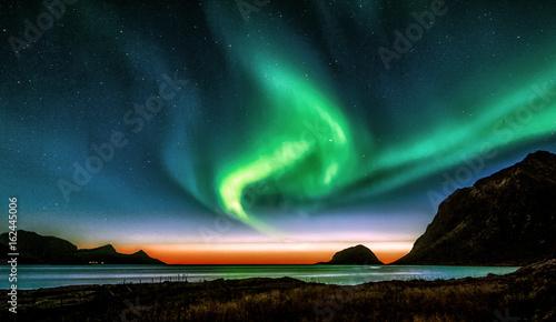 Leinwand Poster  Aurora Borealis