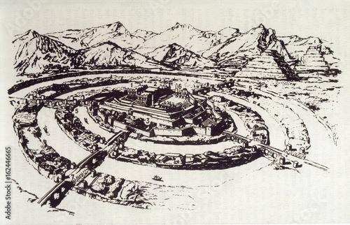 Atlantis (Avotin) Canvas Print