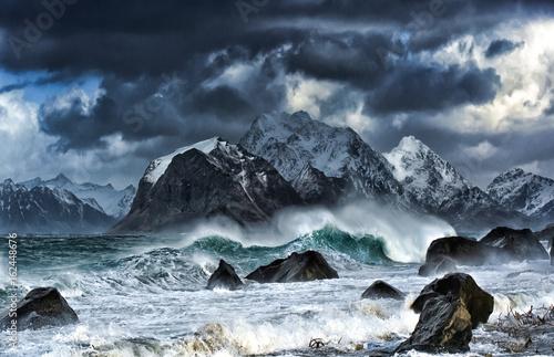 Obraz na plátně Deadly wave