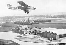 Argosy Over Croydon. Date: 1927