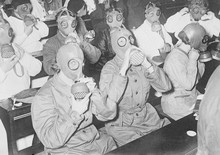 German Gas Masks. Date: 1933