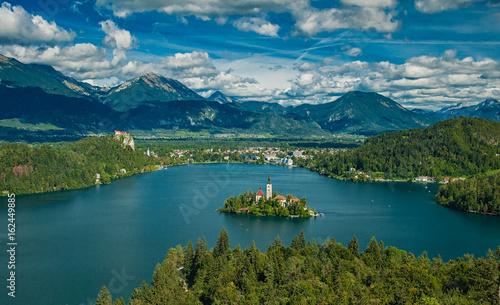 Fototapeta Lake Bled in Slovenia obraz na płótnie
