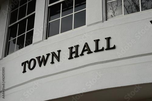 Obraz Town Hall - fototapety do salonu