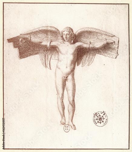 Canvastavla Myth - Mythology - Icarus