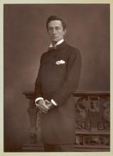 Frock Coat Photo 1890. Date: 1890