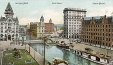 Erie Canal  Syracuse. Date: 1906