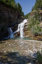 Falls In Waterton