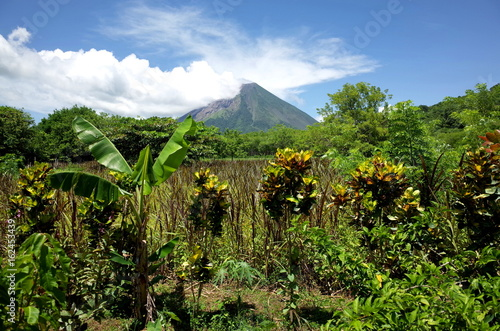 An amazing view of Volcan Concepcion on Isla Ometepe in Nicaragua Fototapeta