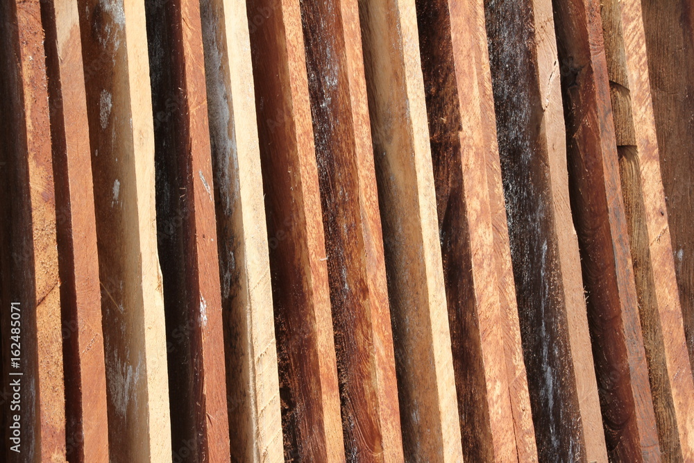 Fotografia Wood Planks and Boards for Building a Dhow
