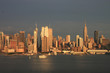 New-York winter Skyline