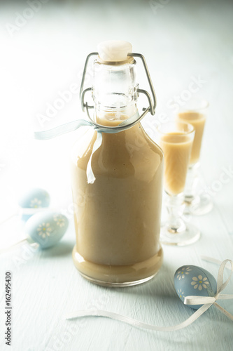 Plakat Mleczko jajeczne