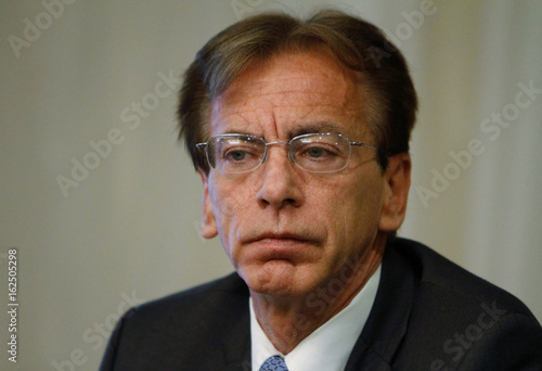 Chief Compliance Officer of Odebrecht Mike Munro holds a