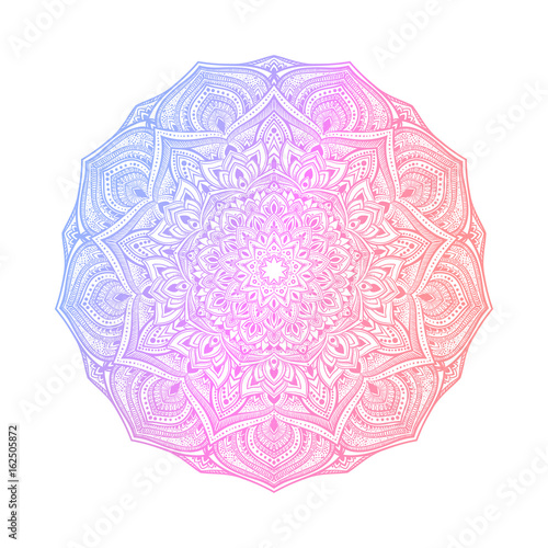 Fotografija  Hand drawn abstract mandala design