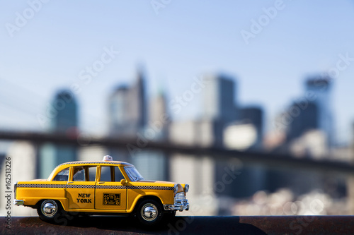 Poster New York TAXI Yellow Taxi & New-York