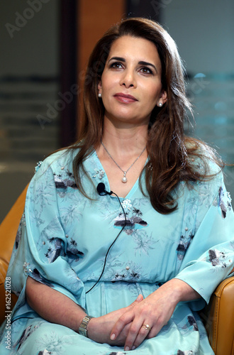 Princess Haya bint al-Hussein, daughter of Jordan's late King