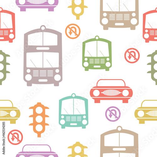 wzor-bezszwowe-samochody