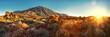 canvas print picture - Tenerife, Teide, Roques de García, Sunrise