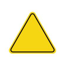Triangle Warning Sign. Warning...