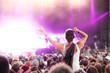 Konzertbesucher Festivalbesucher