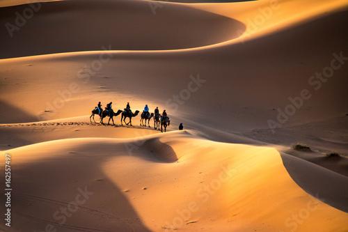 Deurstickers Marokko Sahara Desert, Morocco
