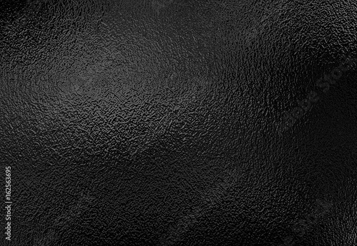 Obraz Background texture of shiny black metal foil - fototapety do salonu